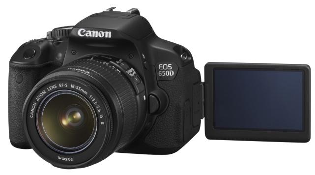 Canon 650D, la reflex con pantalla tactil