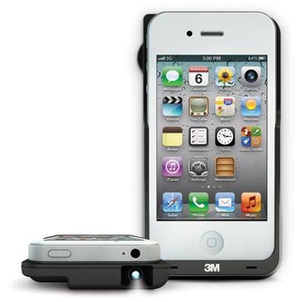 3M Lanza el proyector LED para iPhone
