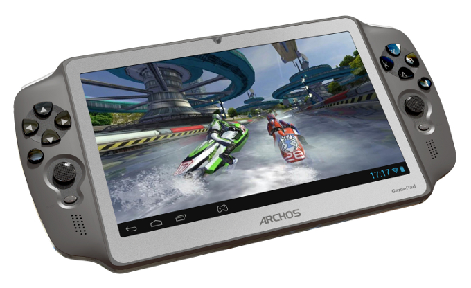 Archos Gamepad, consola portátil con Android