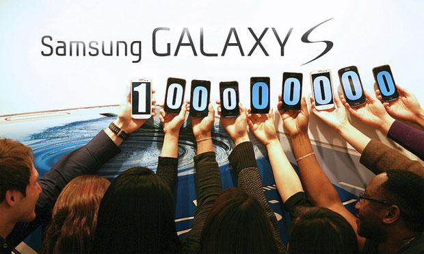 La familia Galaxy S llega a 100 millones de ventas
