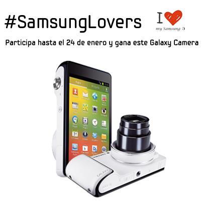 Gana un Galaxy Camera con #SamsungLovers. Mecánica del concurso