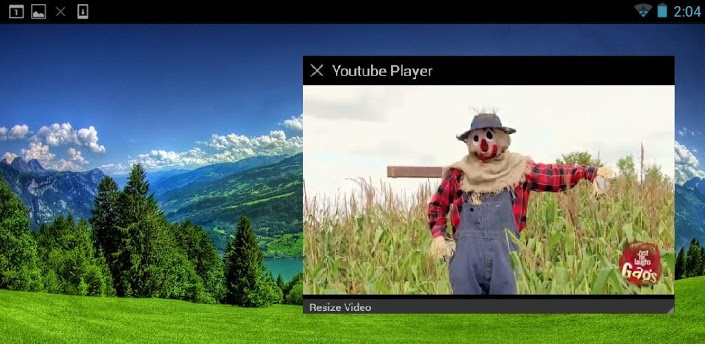 Floating Youtube Popup Video, ve videos mientras haces otras cosas