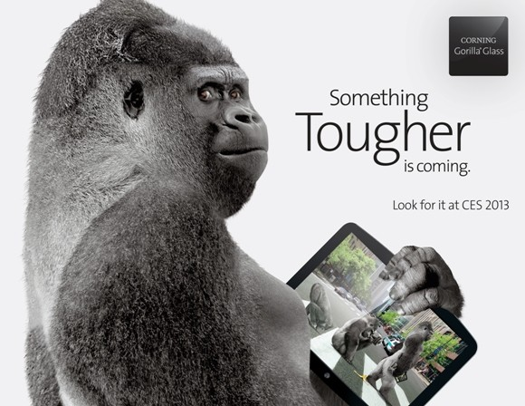 Corning anuncia la presentación de Gorilla Glass 3 en el CES 2013