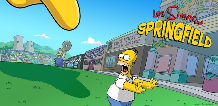 Los Simpson: Springfield ya disponible en Android