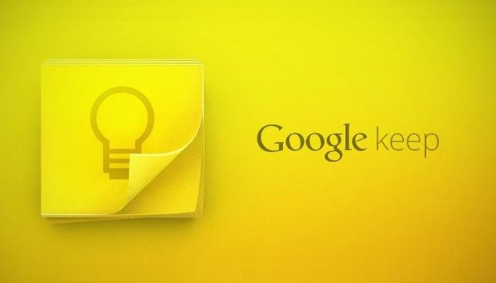 Nace Google Keep, el bloc de notas de Google para Android