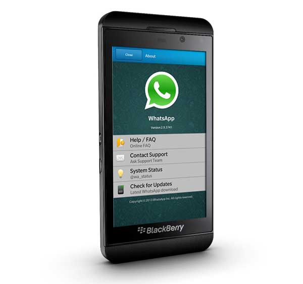 whatsapp bb10