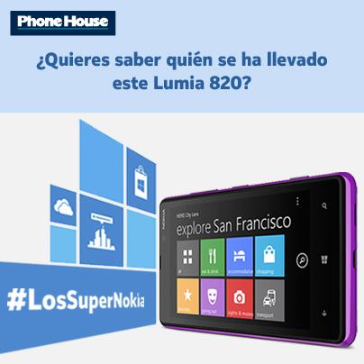 Ya sabemos quién se lleva el cuarto Lumia de #LosSuperNokia