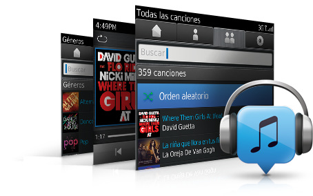 Blackberry cierra su tienda Music en junio
