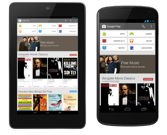 Google rediseña la tienda Google Play