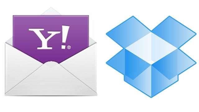 Yahoo! Mail se alía con Dropbox y aumenta la capacidad para enviar archivos adjuntos
