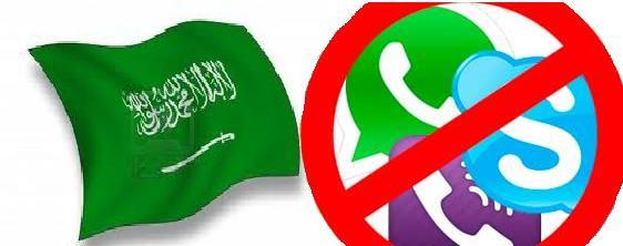 Arabia Saudí veta la mensajería