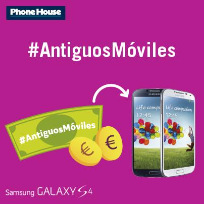 Participa en nuestro concurso #AntiguosMóviles de Facebook, ¡dos Galaxy S4 en juego!