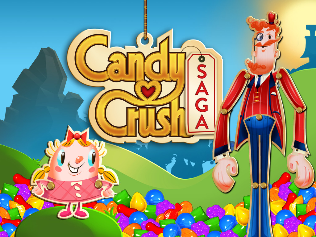 Candy crush saga portada