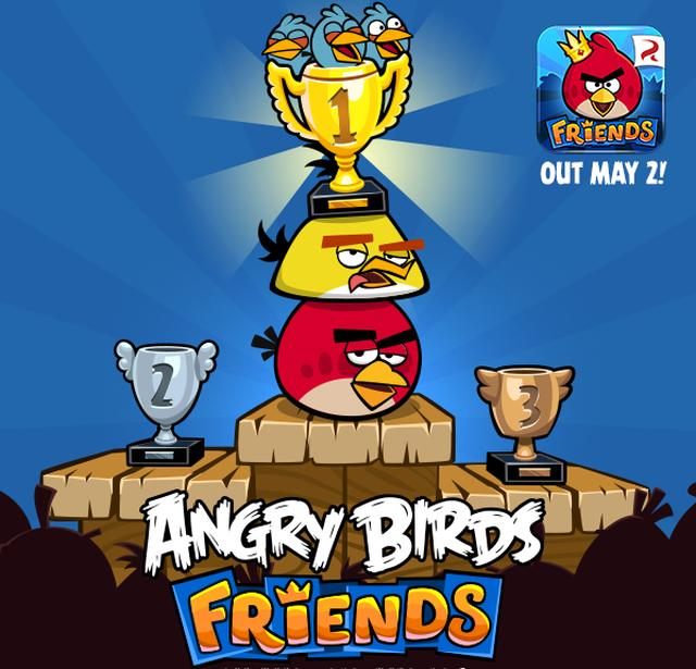 Angry Birds Friends ya disponible gratuitamente para Android e iOS