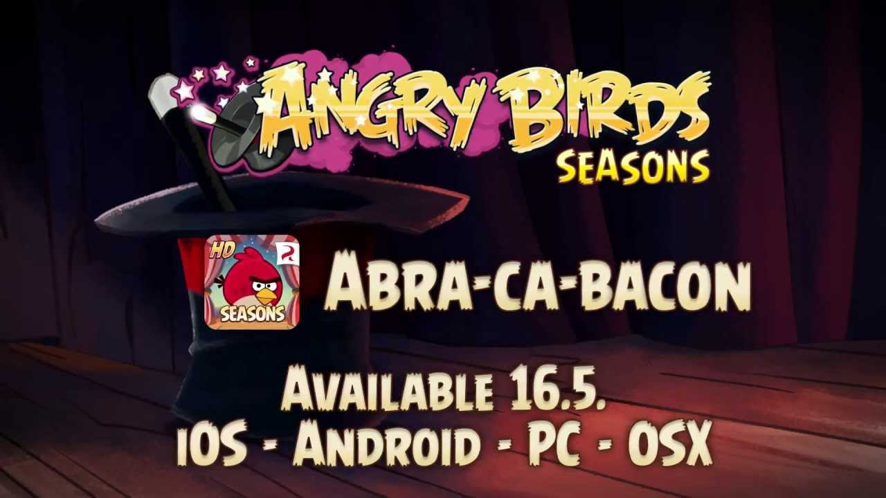 Angry Birds Seasons crece con una nueva actualización
