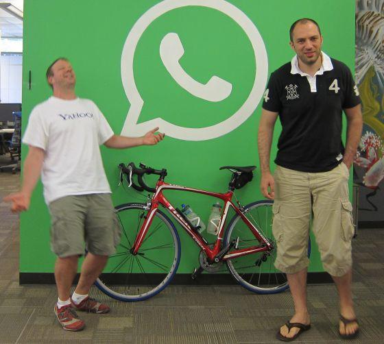 Los fundadores de Whatsapp repasan el estado de forma de la app