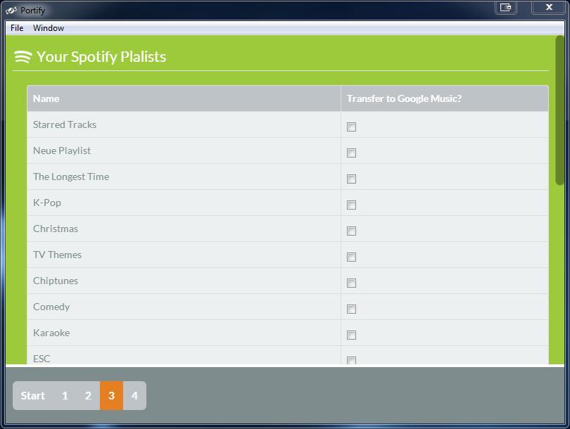 Transferir la lista de reproducción de Spotify a Google Music ya es posible con Portify