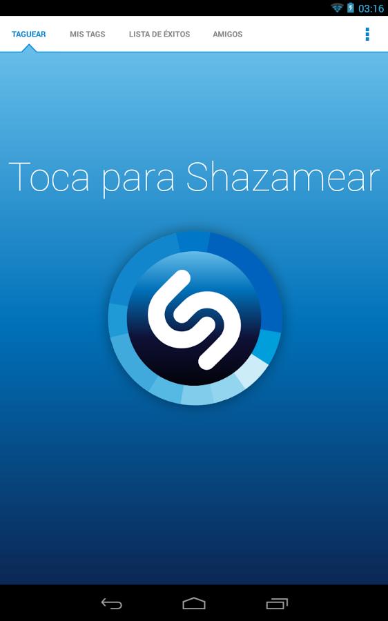 Shazam se actualiza para adaptarse a tablets