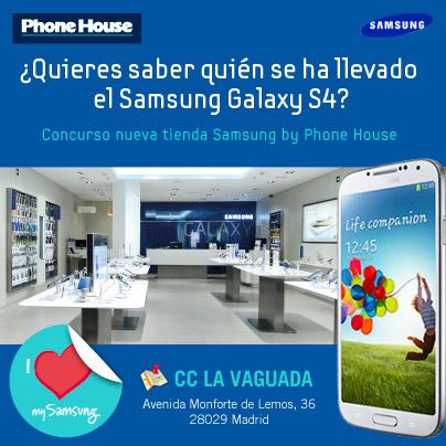 Sorteo de Galaxy S4 en nueva tienda Samsung by PH de La Vaguada, ¡ya hay ganador!