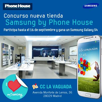 Pásate por el photocall de la nueva tienda Samsung by PH en Madrid y gana un Galaxy S4