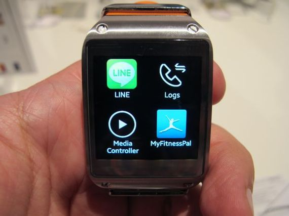 LINE disponible en Samsung Galaxy Gear en octubre