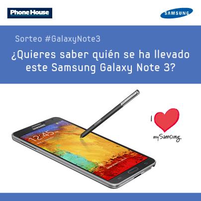 ¿Quién se lleva el #GalaxyNote3 de Facebook a casa?