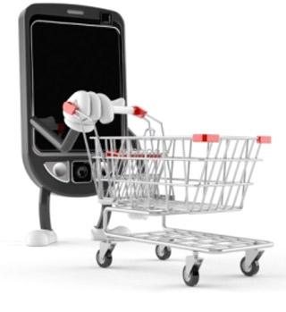 Las compras en Internet a través del móvil aumentan