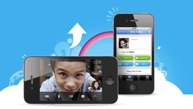 Skype estrena videollamadas en HD y notificaciones push en iOS