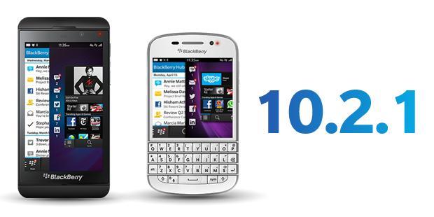 Actualización Blackberry 10.2.1 ya disponible en todo el mundo