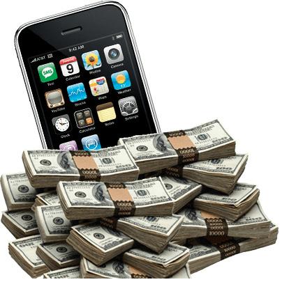 Los españoles gastamos 1.150 millones de euros en móviles durante 2013