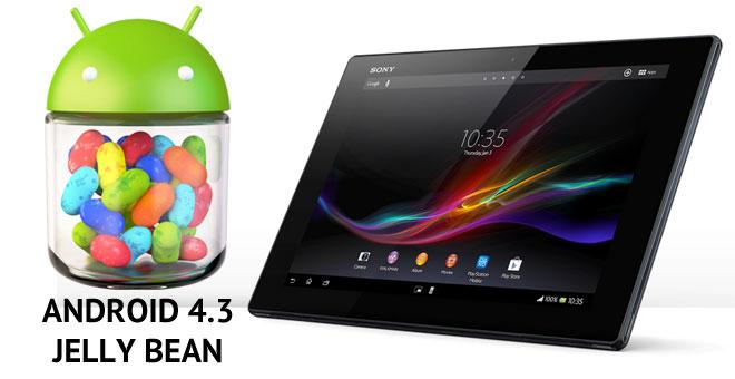 Xperia Tablet Z de Vodafone empieza a recibir Android 4.3