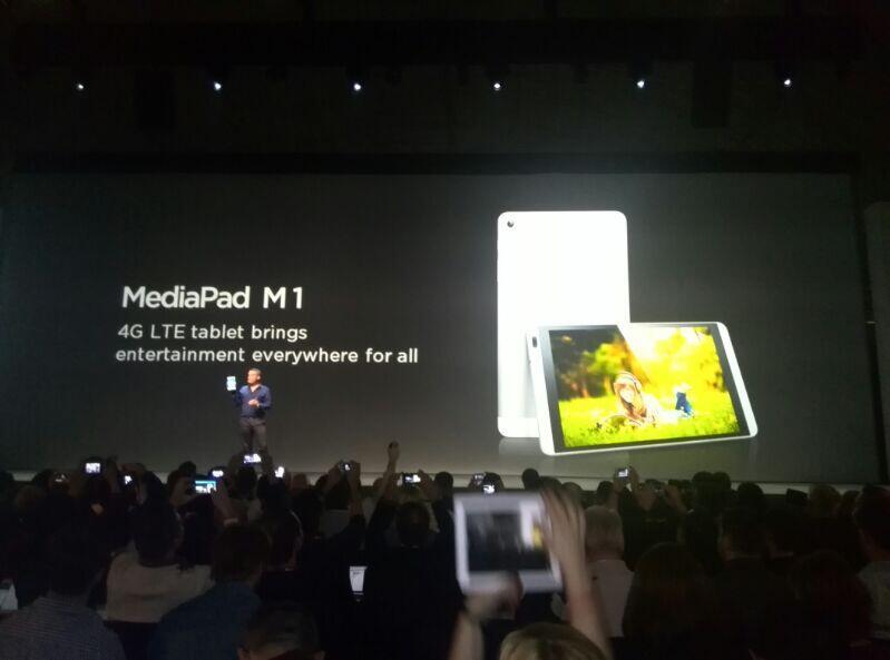 MWC14: Huawei presenta un tablet y un phablet