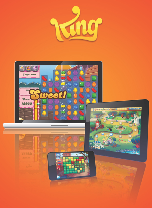 King Digital, creador de Candy Crush, valorado en 5.500 millones de euros