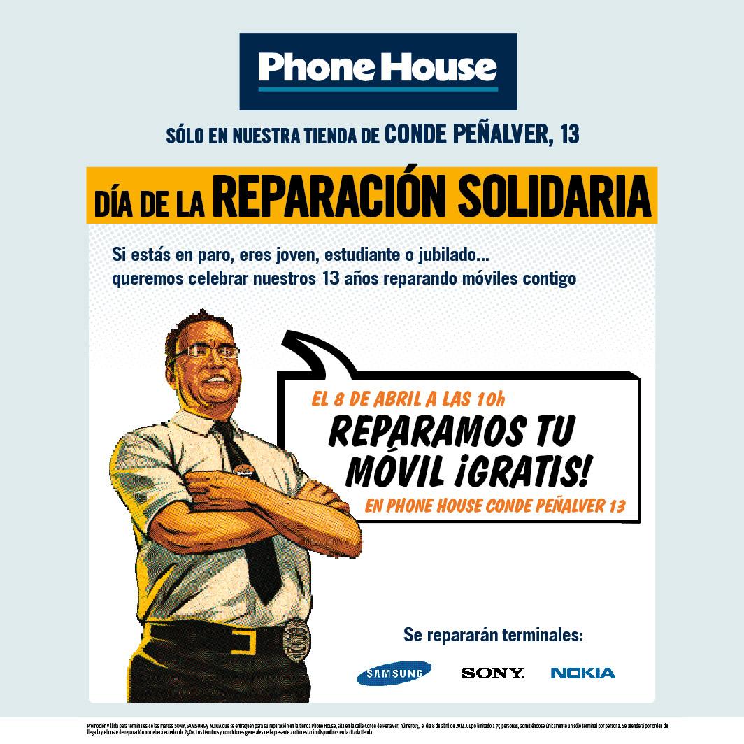 Phone House pone en marcha 'El Día de la Reparación Solidaria'