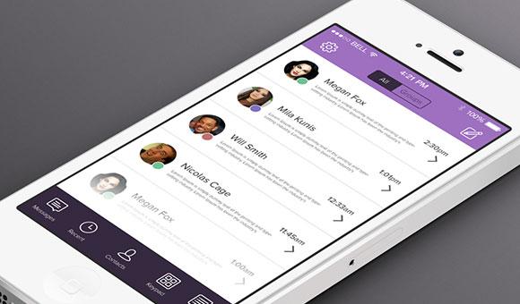 Viber se renueva en iOS 7