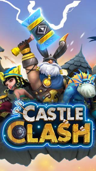 Castle Clash, crea tu ciudad y llega a lo más alto para iOS