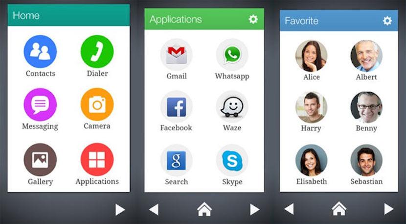 Convierte un smartphone con Android en un terminal para mayores con Wiser