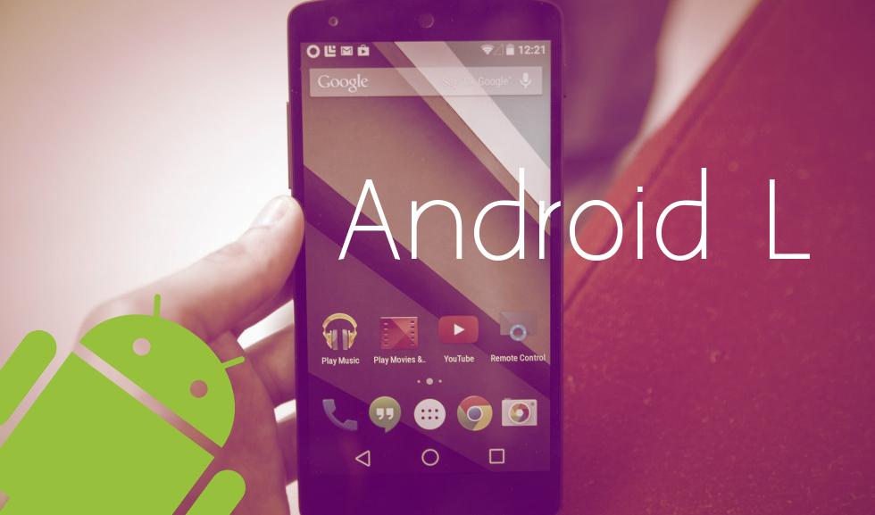 Android L, una radical actualización frente al actual KitKat