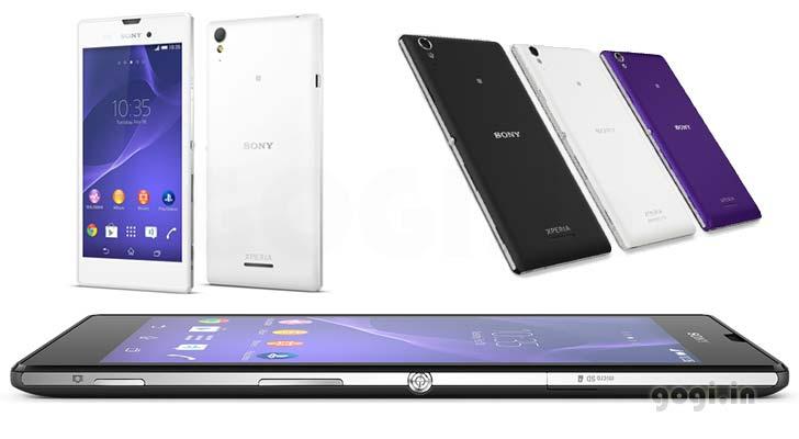 Sony presenta el Xperia T3, su mejor smartphone de gama media