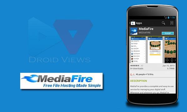 Mediafire se actualiza para Android y permite la subida de fotos automática