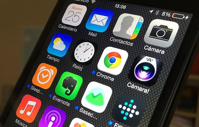 iOS 8 de Apple, disponible a partir de hoy