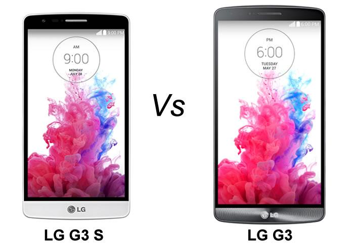 LG G3S vs LG G3, comparamos estos dos smartphones Android