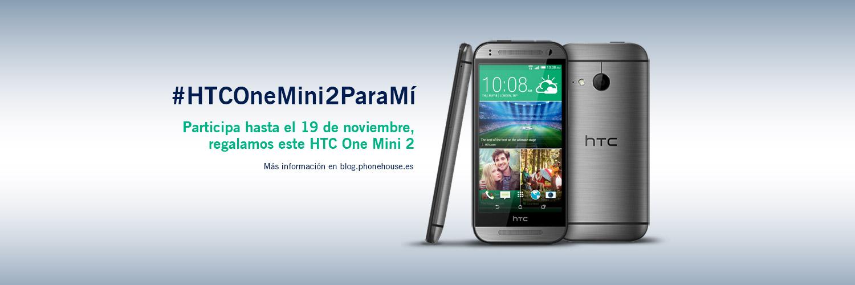 Participa en el sorteo, ¡regalamos el nuevo HTC ONE MINI 2!