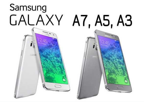 Los nuevos Samsung Galaxy A3, A5 y A7, próximamente en Phone House