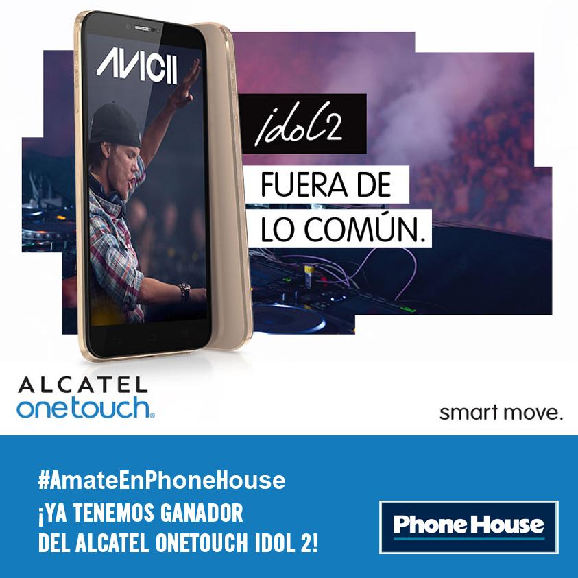 ¡Feliz San Solterín! ¡Ya tenemos ganador del Alcatel OneTouch Idol2!