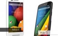 Comparamos los nuevos Motorola Moto E 4G y Moto G 4G