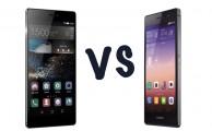 Comparativa: Huawei P8 vs Huawei Ascend P7