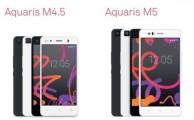Comparamos los dos nuevos smartphones de BQ: M4.5 vs M5