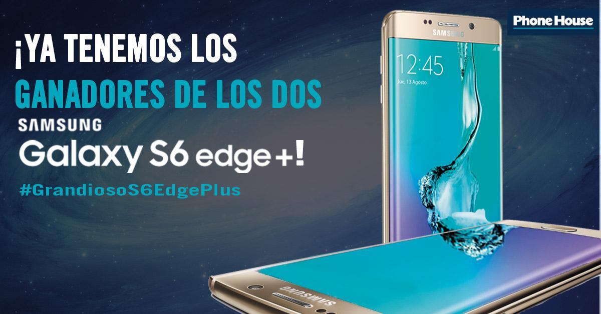 Ganadores Samsung galaxy edge plus