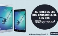 ¡Ya tenemos ganadores de los 2 Samsung Galaxy Tab S2!